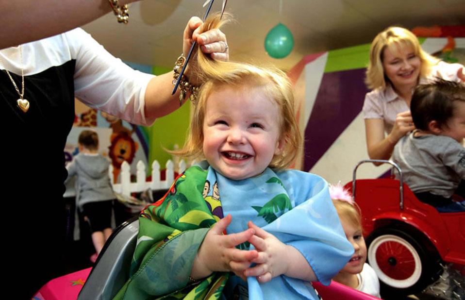Salão infantil de cabeleireiro - Portal Vipzinho
