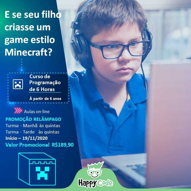 promoção de programação da happy code com vipzinho