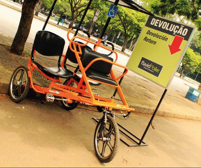 aluguel de bike noparque do ibirapuera com vipzinho