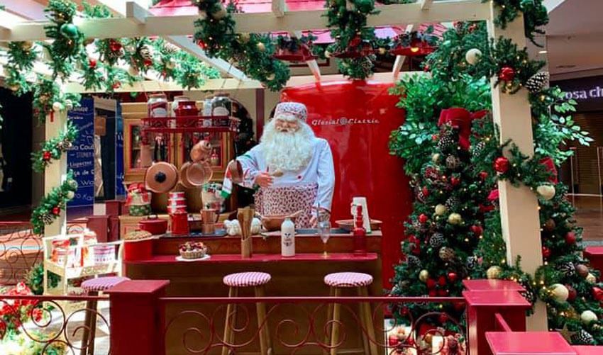 casa do papai noel no parkshoppingsãocaetano com vipzinho