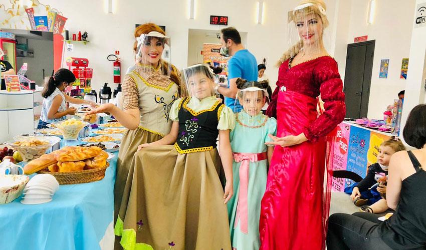 café da manhã com as princesas no btc com vipzinho