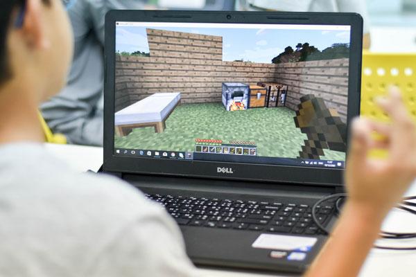 curso de games com minecraft no vipzinho