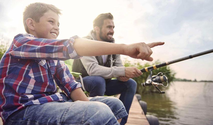 pesca com crianças no abc paulista no vipzinho