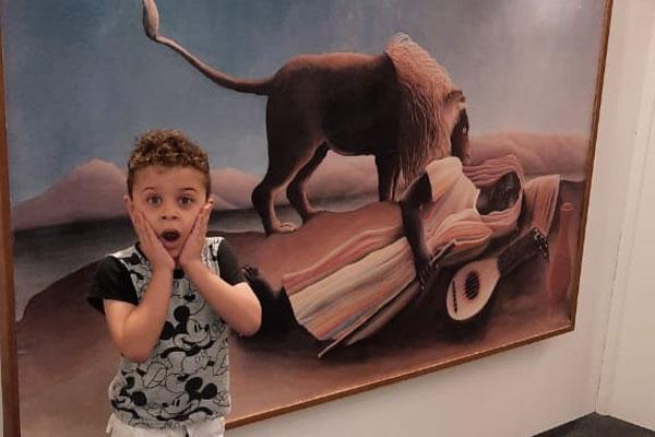 exposição de arte no shopping abc com vipzinho