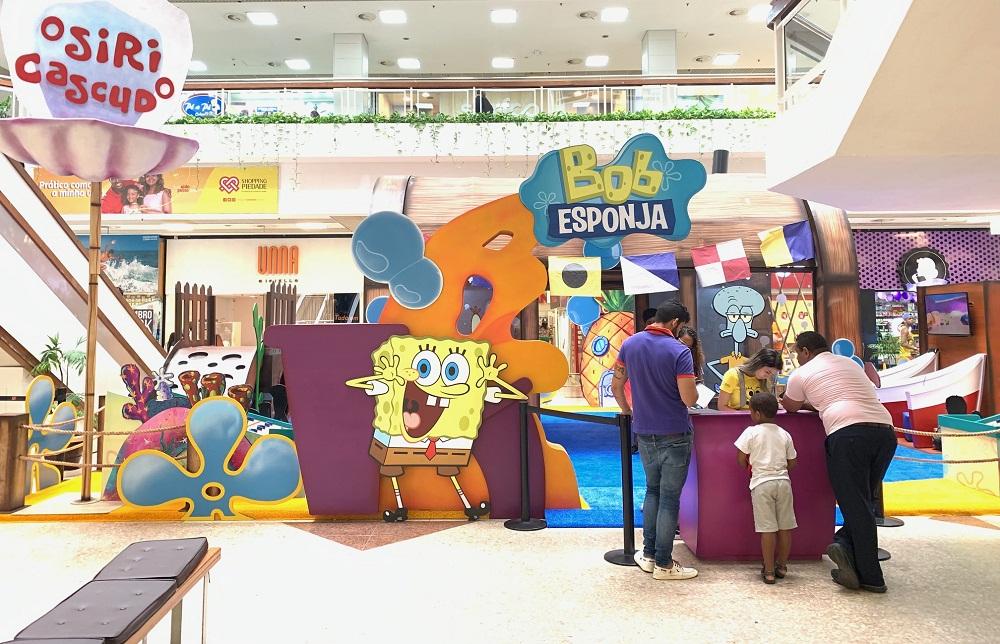 Bob Esponja Shopping Metrópole