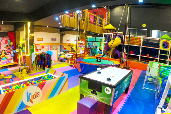 kids pizza bar no guarujá com vipzinho