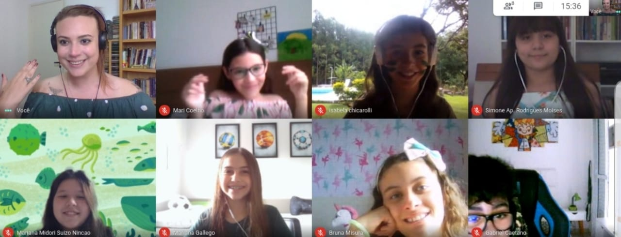 aulas de interatividade na interlingua