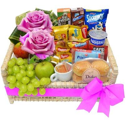 cesta café da manhã giuliana flores