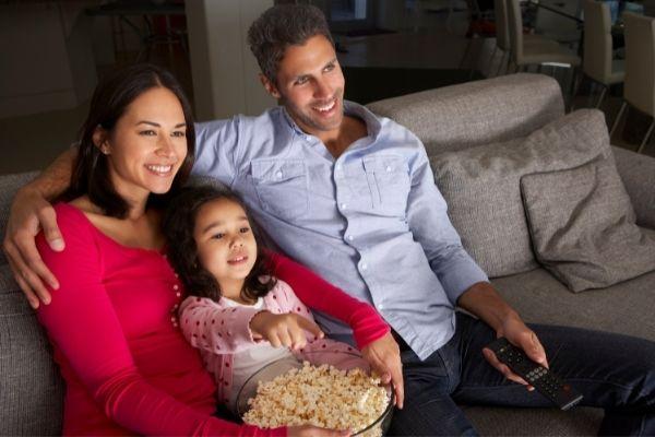 cinema em casa com netflix
