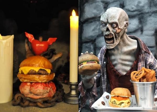 hamburgueria zombie burger