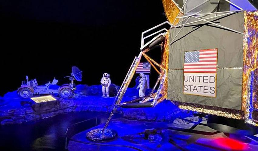 aventura espacial exposição